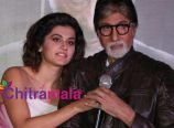 Amitabh Bachchan and Taapsee