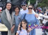 Mahesh Babu Family Paris Tour