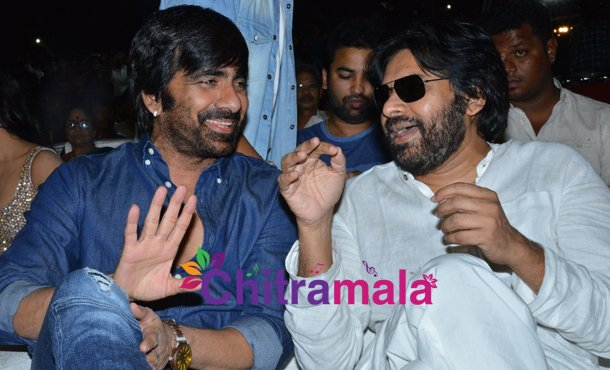 Ravi Teja and Pawan Kalyan