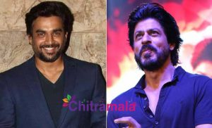 Madhavan and Shah Rukh Khan