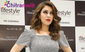 Hansika Oops Moment