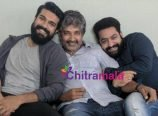 SS Rajamouli, Jr NTR and Ram Charan