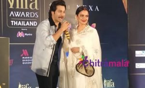 Rekha and Varun Dhawan