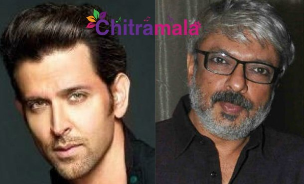 Hrithik and Bhansali Movie