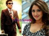 Sayesha Saigal with MGR