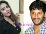 Sri Reddy and Vishal