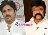 Pawan Kalyan and Nandamuri Balakrishna