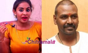 RaghavaLawrence and Sri Reddy