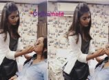 Pooja Hegde Turns Makeup Artist