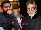Jr NTR and Amitabh Bachchan