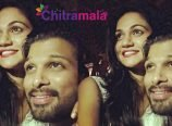 Allu Arjun and Sneha