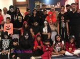 Mega Family in Halloween Party