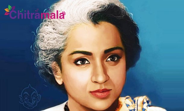 Trisha as Indira Gandhi