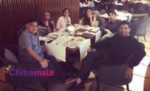 Allu Family Holiday in Singapore