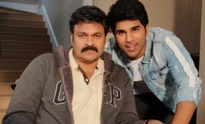 Allu Sirish and Nagababu