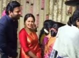 Prabahs and Anushka at Rajamouli son wedding