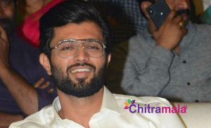 Vijay Devarakonda in Hyderabad