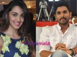 Kiara Advani and Allu Arjun