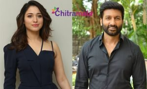 Gopichand and Tamannah