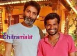 Hyper Aadi and Trivikram