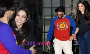 Ranveer and Deepika Kiss
