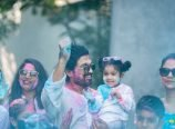 Allu Family Holi Celebrations Pics