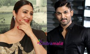 Tabu as Allu Arjun Mother