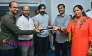 Disco Raja Movie Launch