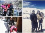 Allu Arjun Holiday in Swiss