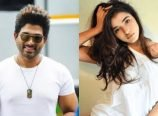 Allu Arjun with Ketika Sharma